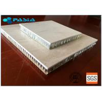 Buy cheap Natural Large Size Honeycomb Stone Panels , Marble Composite Panels With Edge from wholesalers