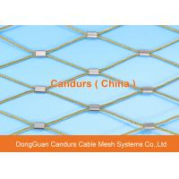 Quality Flexible Stainless Steel Diamond Mesh For Building Construction for sale