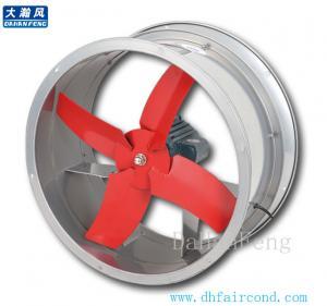 Quality DHF B series wall axial fan/ blower fan/ ventilation fan for sale