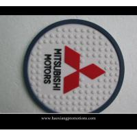 Quality Custom Logo Low MOQ Round Shape Promotional Gift Cork Coaster Single Packed with your logo for sale