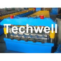 Buy Metal Trapezoidal Roof Panel Roll Forming Machine for Making Trapezoidal Roof at wholesale prices