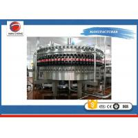 Quality Soda Bottled Water Production Machines , Large Capacity Rotary Liquid Filling Machine for sale