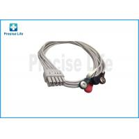 Quality Mindray 0010-30-42906 12 Lead ECG Cable , ECG Limb Wires 0.6m Snap for sale