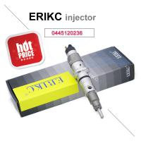 Quality ERIKC 0445120236 bosch common rail diesel injector 0 445 120 236 fuel truck injection 0445 120 236 for Komatsu Cummins for sale
