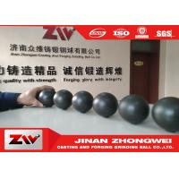 Quality Cast iron and forged Grinding Steel balls , Dia 20-140mm grinding media ball for sale
