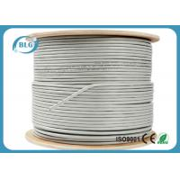 China FTP Shielded Cat6 Internet Cable CCA Copper 23AWG For Telephone Communication on sale