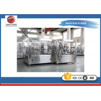 Buy Large Capacity Fruit Juice Filling Machine High Performance 9.5kw High Filling Precision at wholesale prices