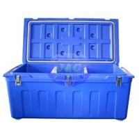 Quality LLDPE Roto Molded Plastic Products Insulated Fishing Boxes Rotomolded Cooler for sale
