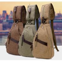 Quality Summer Cross Body Single Strap Backpack Large Capacity With Cotton Canvas for sale