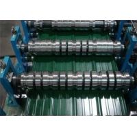 Buy PLC Control Roof / Wall Panel Color Steel Plate Roll Forming Machinery CE at wholesale prices