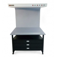 Quality Tilo CC120-B Color Proof Station Light Box with Drawers For Package Printing Industry for sale
