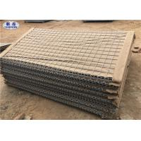 Buy cheap Geotextile Lined HDP Galvanized earth - filled HESCO Barrier for Military Preotection from wholesalers