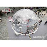 Outdoor Geodesic Dome Tents with Transparent roof cover used for events for sale