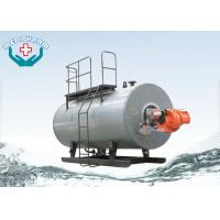 Quality Oil / Hot Water Industrial Steam Boiler Freezing Cold Winter Night Safe Operation for sale