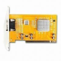 Quality Video Capture Card, Multi-channel, Support Network Surfing and Mobil Control for sale