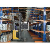 Quality Selective Multi - Tier Cantilever Steel Storage Racks With Powder Coating for sale