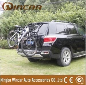 China Trunk Mounted Bike Carrier/ Rear Door Mounted Bike Carrier/ Aluminium Alloy Bike Rack on sale