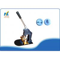 Buy Logo DIY Manual Badge Making Machine 4.5 Kg With 25 MM Round Mould Button at wholesale prices