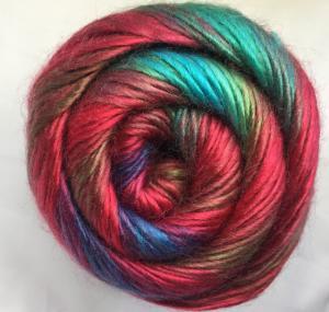 Quality Fancy Yarn, Handknitting Yarn, Rainbow Color Yarn, Acrylic Yarn for sale