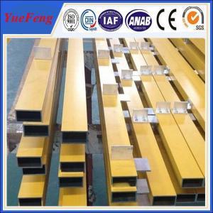 Quality Hot! aluminum profile tube factory, OEM color painting aluminum tube aluminium alloy for sale
