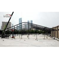 Black Aluminum Structure Tent customized 35x49M used for outdoor event for sale