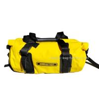Quality 30L Bright Yellow Tarpaulin PVC Motorcycle Duffel Dry Bags / Waterproof Camping Bag for sale