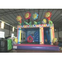 Quality Water Park Flower Combo Airflow Bouncy Castle , Customized Kids Jumping Castle for sale
