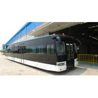 Buy Full aluminum body airport apron bus with 110 passengers capacity and 14 seats at wholesale prices