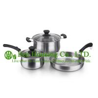 Quality cookware with stainless steel manufactuer in China, kitchenware for sale, fry pan, woks,soup pot,milk pot for kitchen for sale