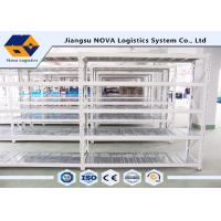China Stable Warehouse Medium Duty Shelving 2 - 5 Levels With Hot Rolled Steel Q235B on sale