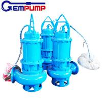 Quality WQ Sewage Industrial submersible sump electric water centrifugal pump coal mine for sale