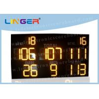 Quality Multi - Function LED Cricket Scoreboard Electronic CE / RoHS Approved for sale