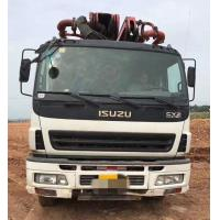 Quality ISUZU-SANY Used Concrete Trucks , Diesel Used Concrete Mixer Truck With Pump for sale