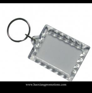 Quality Cheap Customize promotion photo keychain / custom keychain maker / Acrylic keychain for sale