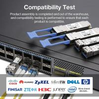 China 2.5G SFP Transceiver Module 40km CWDM SFP Mikrotik Compatible Fiber Optic SFP Module for sale