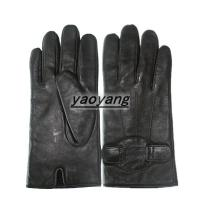 China High quality and durable men warm leather gloves YYLM008 on sale