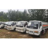 Quality 2014 Year Used Oil Tanker Diesel Fuel Type 5 Tons - 16 Tons Loading Capacity for sale