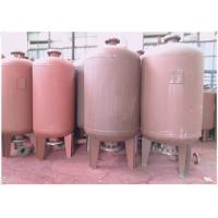 Quality Rubber Membrane Diaphragm Pressure Tank , Water Pump Pressure Bladder Tank for sale