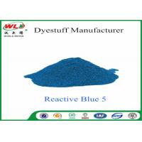 Quality 100% Strength Clothes Color Dye Reactive Navy Blue Clothes Dye C I Blue 5​​ for sale