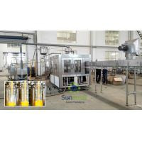 Buy cheap Plastic Bottle Hot  Fruit Juice Filling Machine With 6 Head from wholesalers