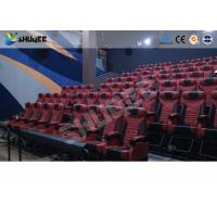 Buy Red Dynamic sitting 4D Movie Theater , Intellectualized Control , Momentum With at wholesale prices