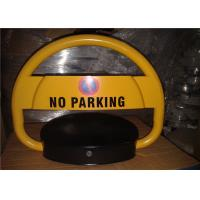 Quality Reserve Car Parking Lock , Steel Rolling Secure parking space barrier with Sensor for sale