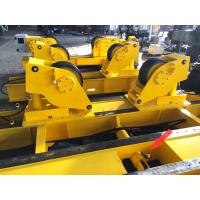 Quality Conventional Pipe Welding Rollers , Hydraulic Fit Up Welding Rotator For Pipe Butt Welding for sale
