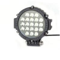 Quality 63W 7 Inch Led Driving Lights For Cars Flood /Spot Black Red Yellow Driving Led Work Lights for sale