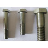 Buy cheap 12.9 Grade Half Threaded Carbon Steel Bolts , Hex Head Cap Screw For Spare Parts from wholesalers