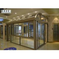 Quality All Season Glass Enclosed Sunroom With Silicone Sealant Sealing Customized Color for sale