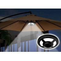 Quality Garden 2.5 W Patio Umbrella Lights SMD2835 AA LR6 1.5 V Alkaline Battery Required for sale
