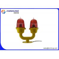 Quality Low Intensity Light / Double LED Aviation Obstruction Light for Buildings for sale