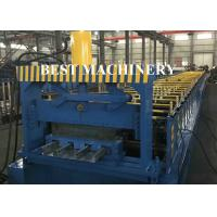 Buy Steel Concrete Floor Decking Sheet Tile Roll Forming Machine Zinc Coating at wholesale prices