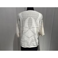 Buy Beautiful Women'S Cotton Pullover Sweaters Hollow Out Knitting OEM / ODM at wholesale prices